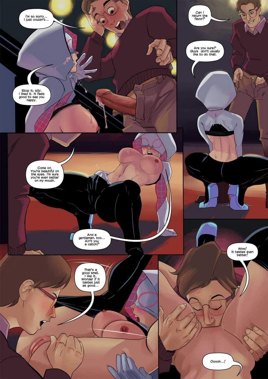 Человек паук секс с гвен стэйси