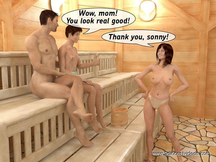 Секс С Мамой В Бане Рассказы