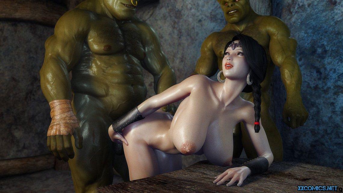 3d порно орки