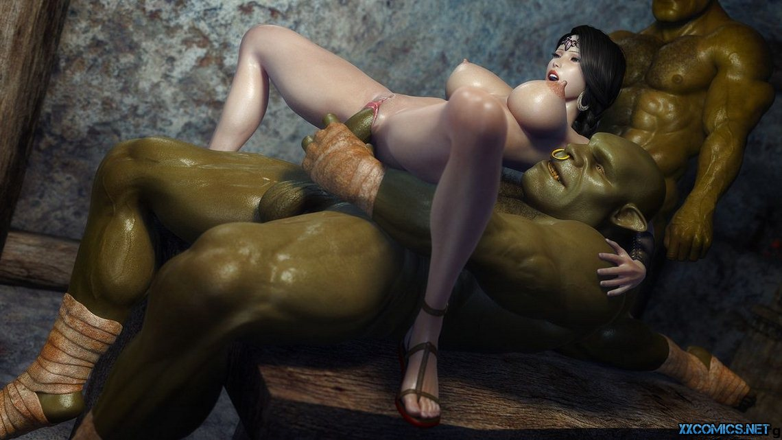 порно орк эльфийку