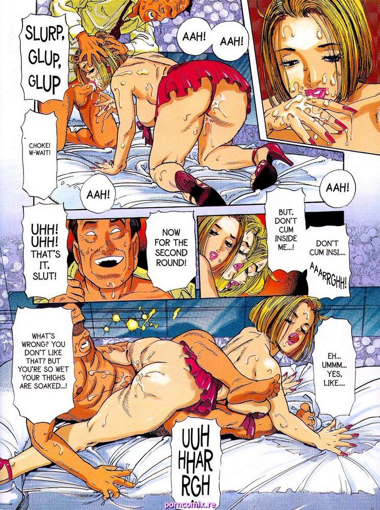 Xxx аниме комиксы