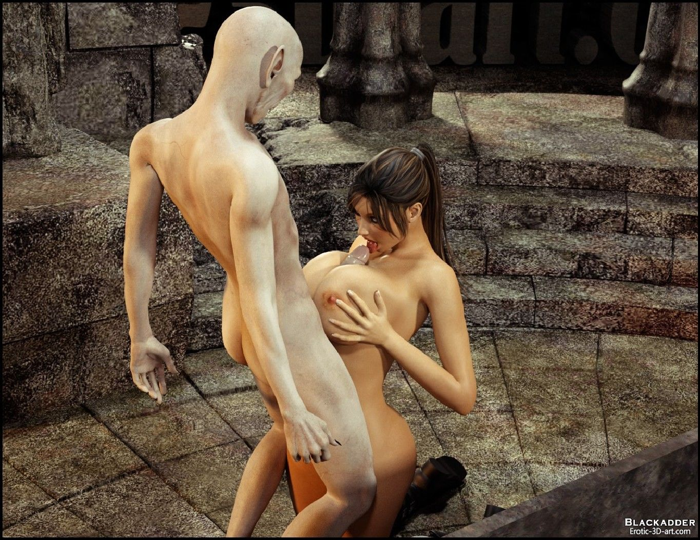 Lara croft fucked my monsters erotic picture