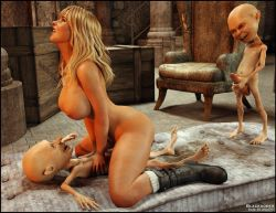 3D Sex Monster  3D monster cock comics porn collection