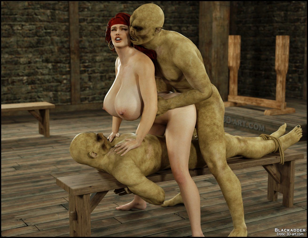 Monster's dungeon sex scene real hentay images