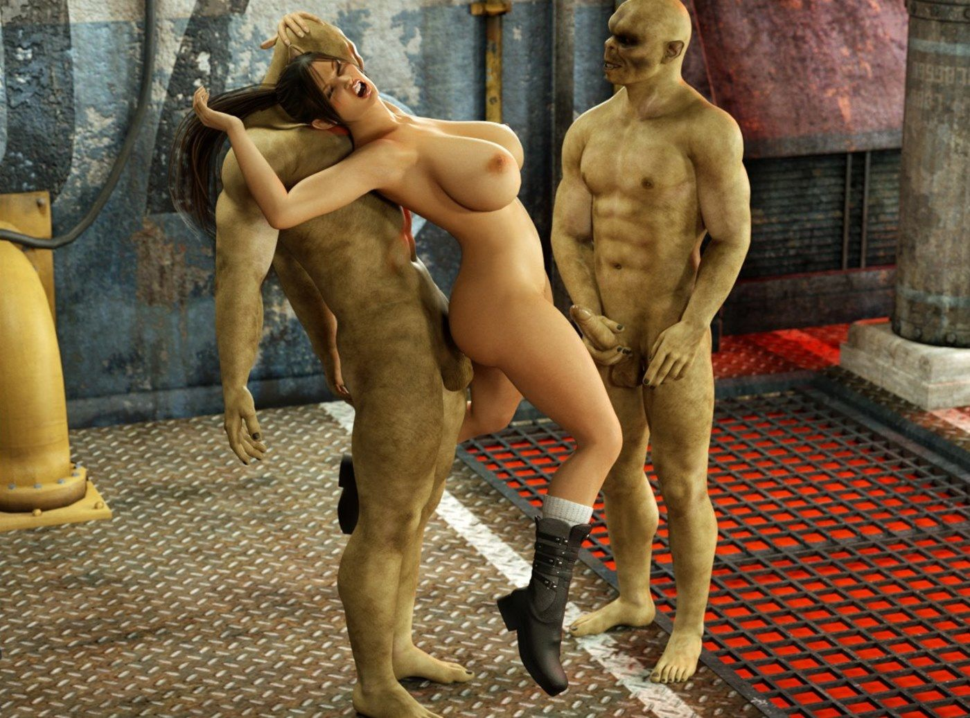 Virtual monster sex porn movie porno scene