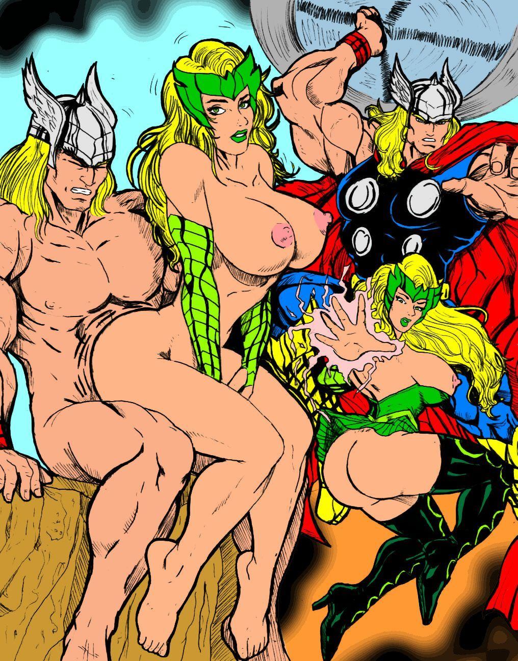 Marvel porno pictures nackt photo