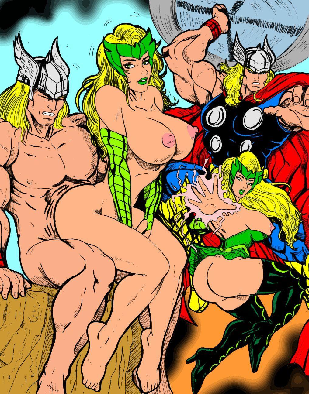 эротические комиксы героев