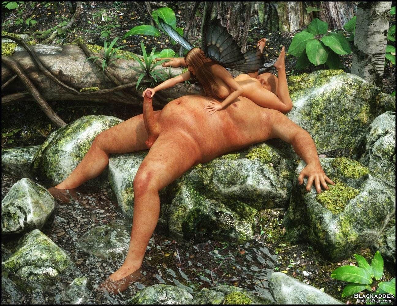 Порно фото лесных фей