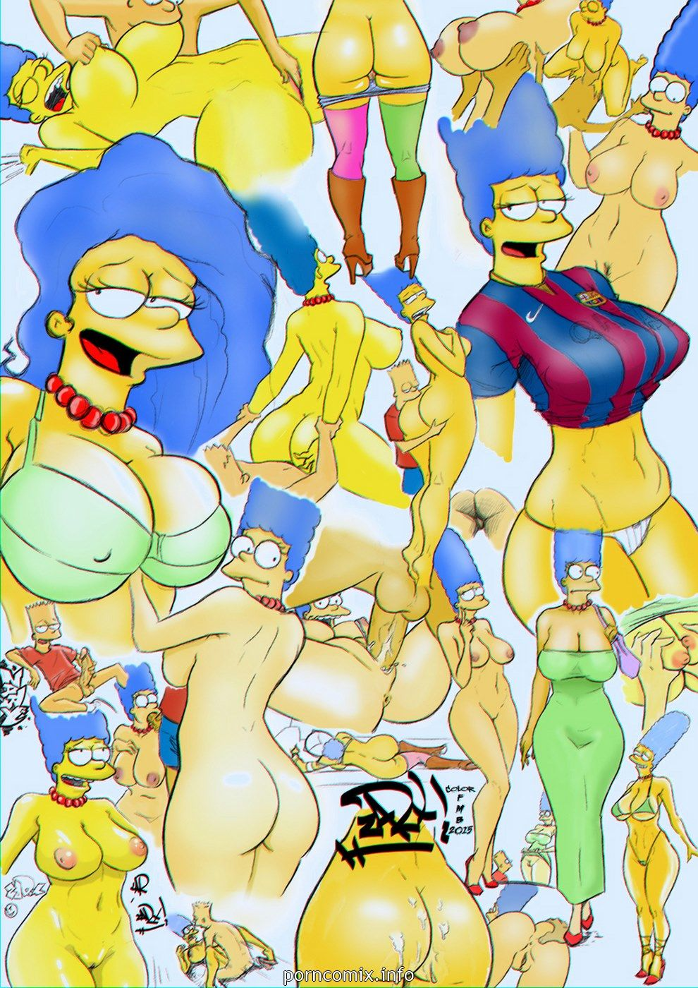 Xxx simpson comics