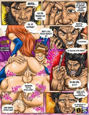 Порно комикс росомаха