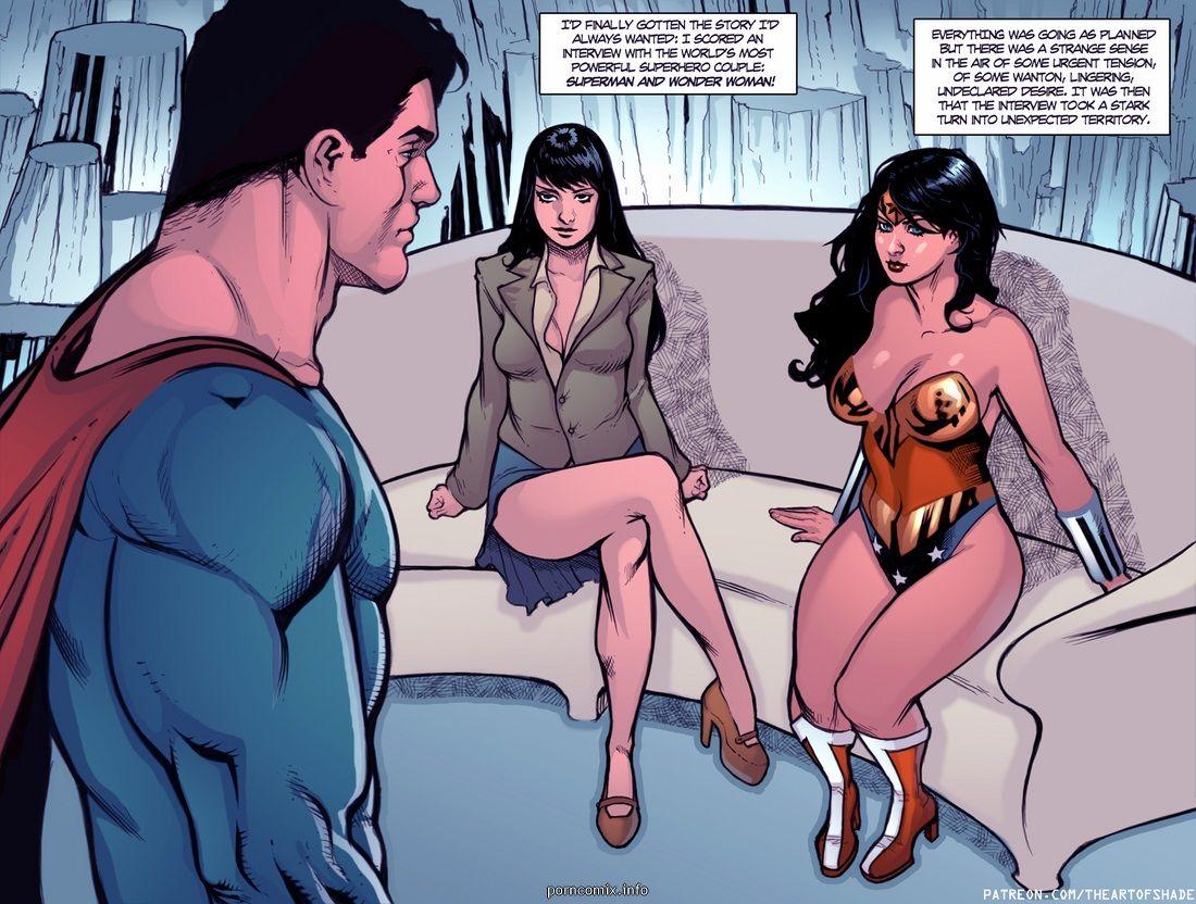 Supergirl Nude Comics
