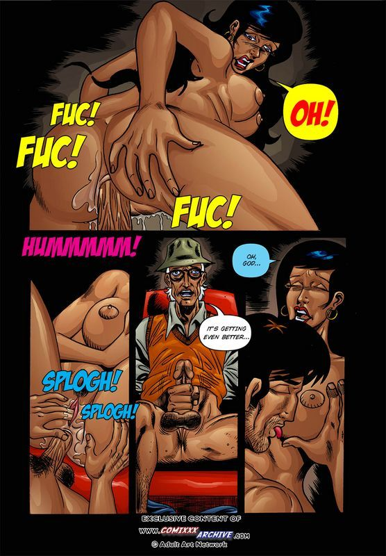 порно комикс чем больше тем лучше