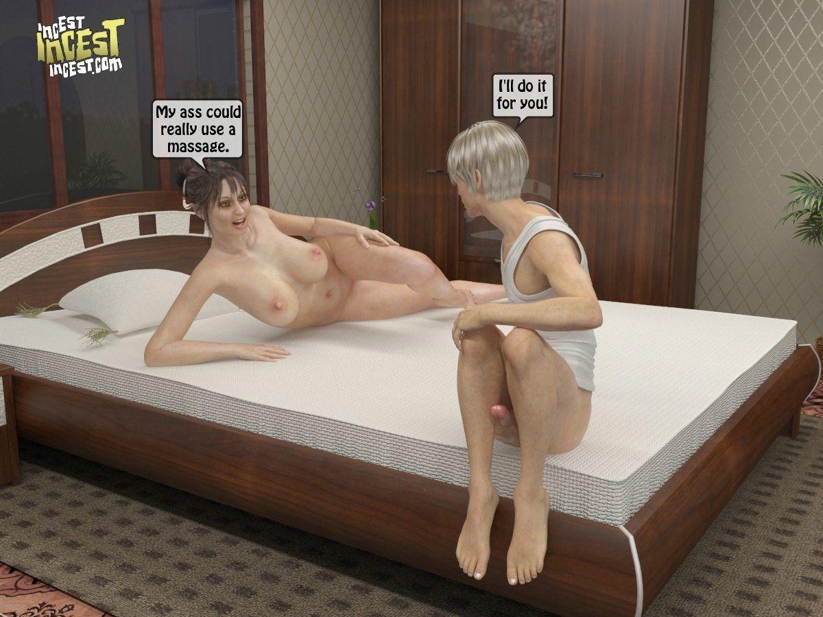 Взяла порно массаж для мамы