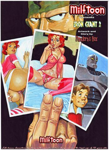 Iron giant комикс порно