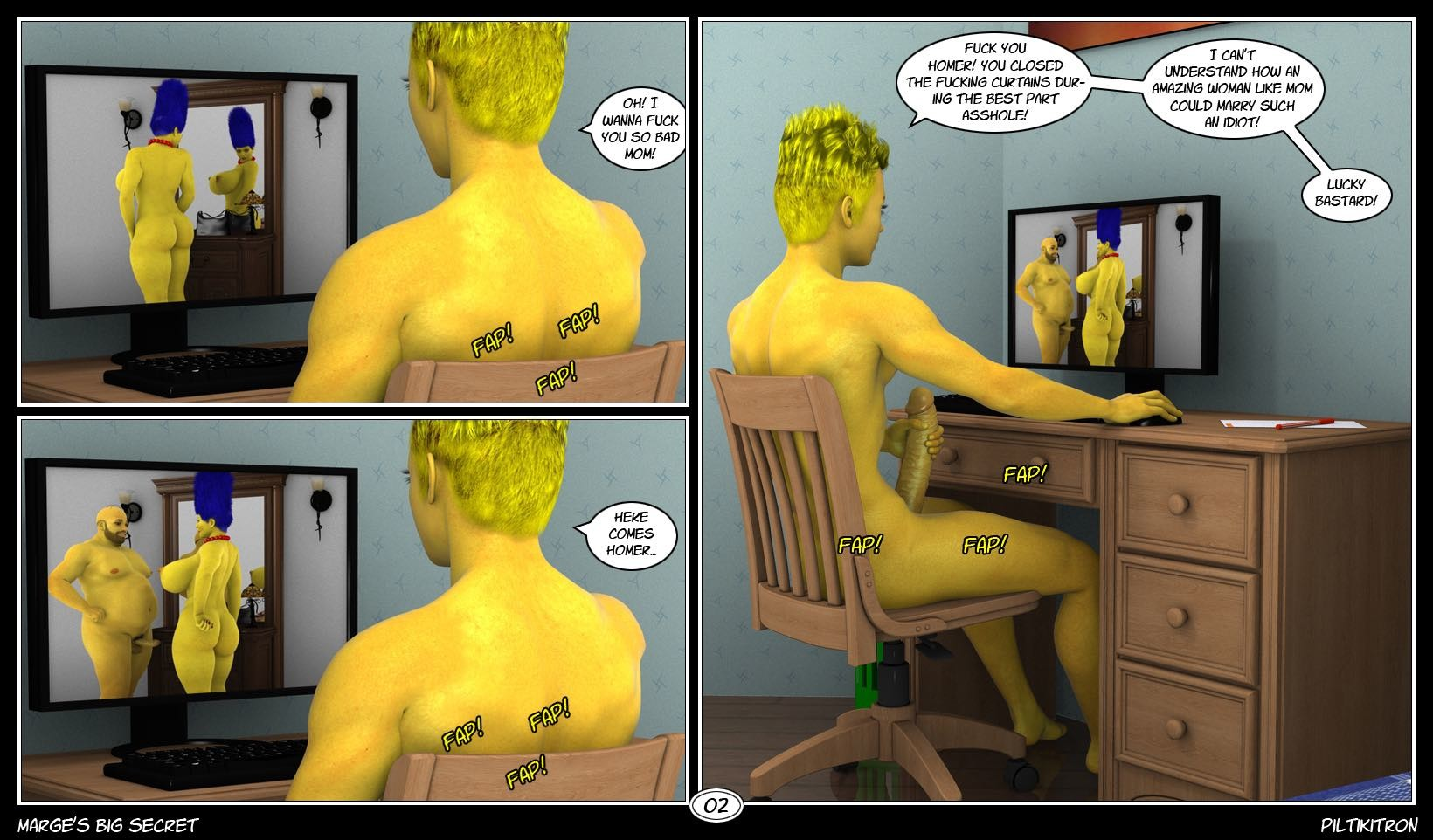 Video porno simpson 3d fucks movie
